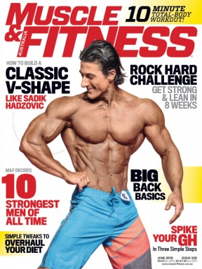 sadik hadzovic Muscle & Fitness cover